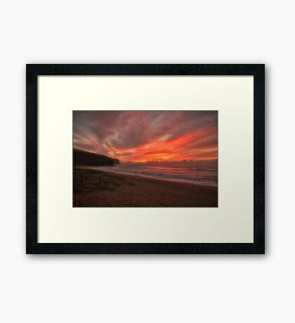 Awakening - Newport Beach Framed Print