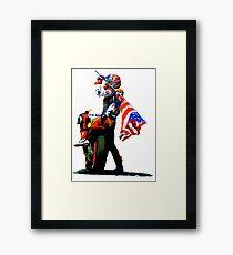 Nicky Hayden Champion Watercolor Framed Print