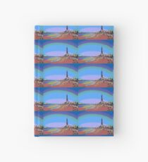 Blackpool Tower and Beach Posterized Hardcover Journal
