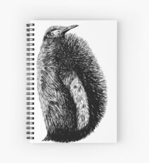 Penguin Sketch  Spiral Notebook