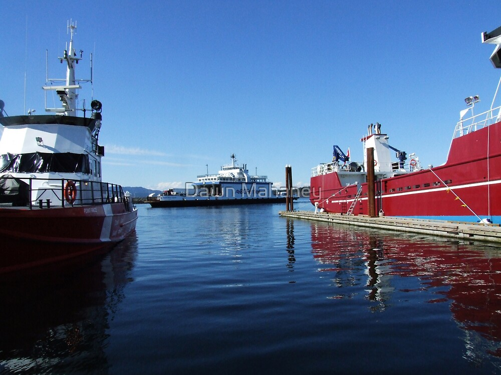 BC Ferry by Dawn Mahaney