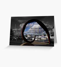 Gothenburg sculpture Greeting Card