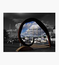Gothenburg sculpture Photographic Print