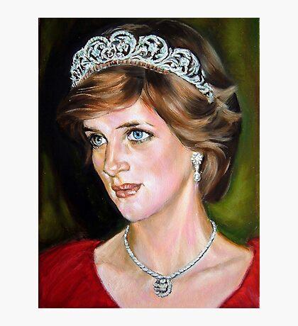 Lady Diana Photographic Print