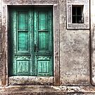 The green door, ancient house by gameover