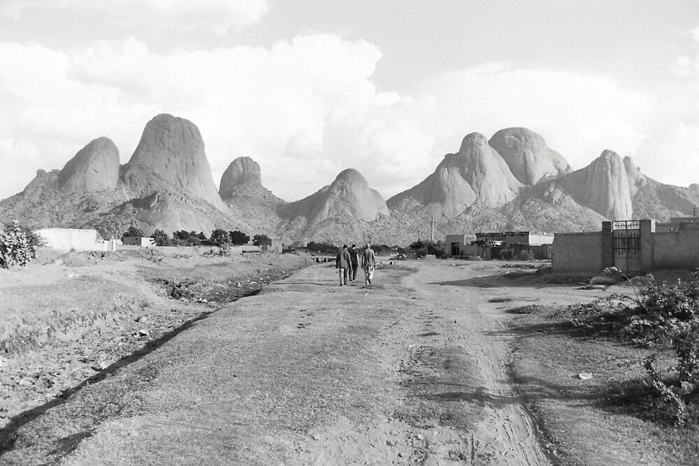 Mountains of Kassala by Sarah Edgcumbe