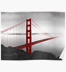 Golden Gate Bridge (Vectorillustration) Poster