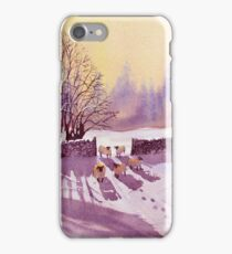 Sheep and Snow iPhone Case/Skin