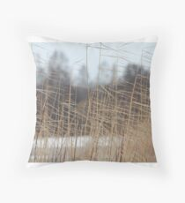cold wind Throw Pillow