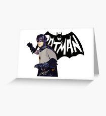 adam west legend 3 Greeting Card