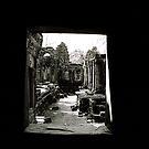 A window into history by Sarah Edgcumbe
