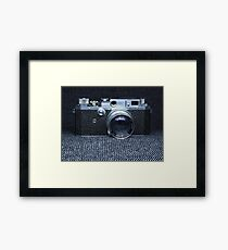 Canon Retro Framed Print