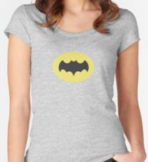 The Original Caped Crusader Women's Fitted Scoop T-Shirt