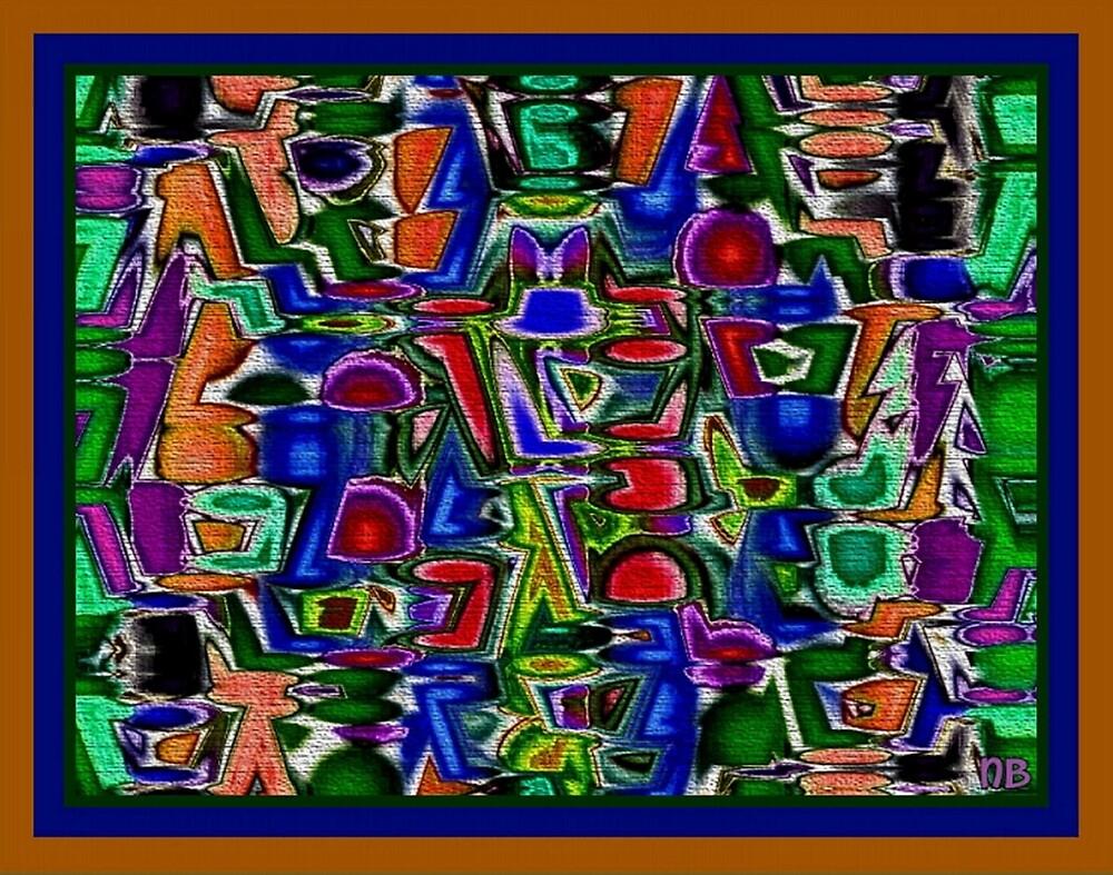Abstract Altercation by angelheart
