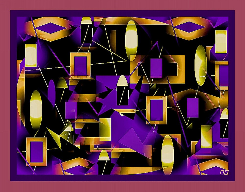 Abstract Dream One by angelheart
