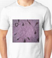 Ether Formation Lavender Unisex T-Shirt