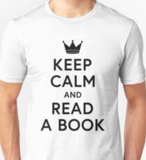 Bookish Keep Calm and Read a Book  Unisex T-Shirt