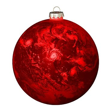 Chrismas Ball Earth by djjaap