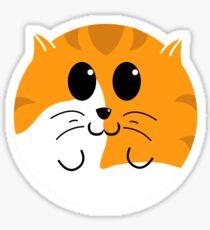 Kitteh - Tigger Sticker