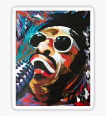 Ray Charles Expressive Acrylic Sticker
