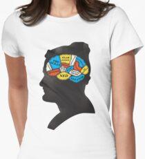 Zissou_Phrenology Womens Fitted T-Shirt
