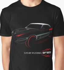 Ford Mustang Shelby GT500 - Colour Graphic T-Shirt