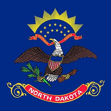 Flag of North Dakota by Countries-Flags