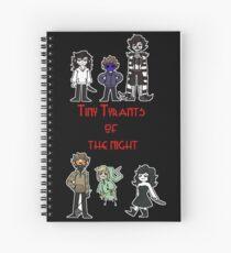 Cuaderno de espiral pequeños tiranos de la noche - creepypasta