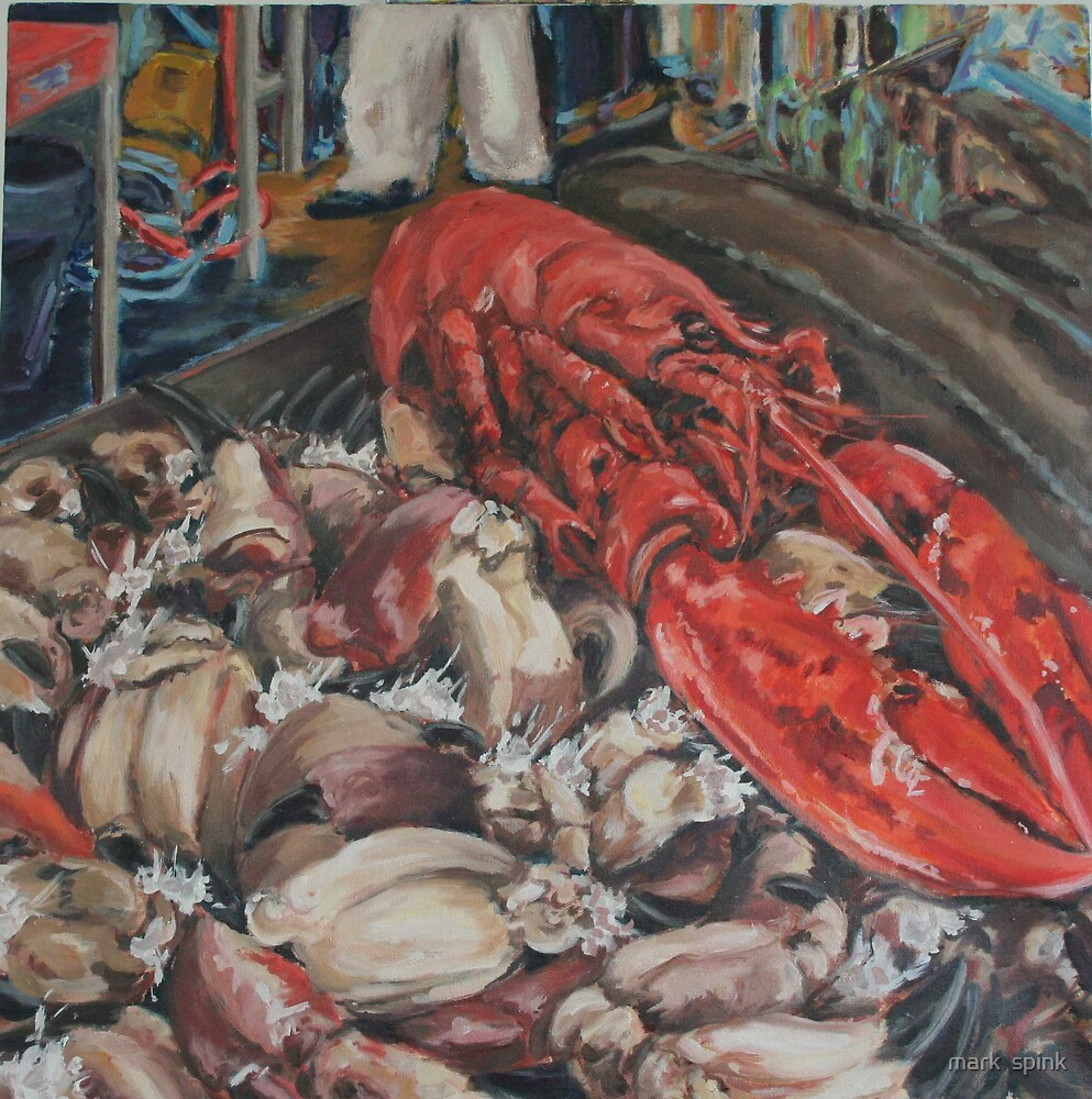 fishmongers by mark  spink