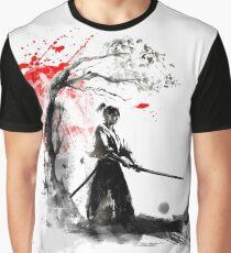 Japanese Samurai Graphic T-Shirt