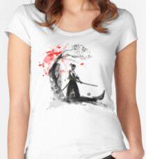 Japanese Samurai Women's Fitted Scoop T-Shirt