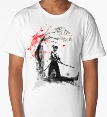 Japanese Samurai Long T-Shirt