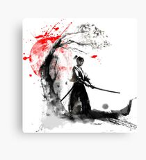 Japanese Samurai Canvas Print