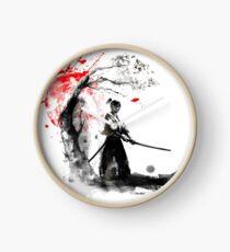 Japanese Samurai Clock