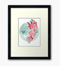 Shiny Clefable Gijinka  Framed Print