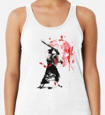 Camiseta con espalda nadadora Samurai japonés