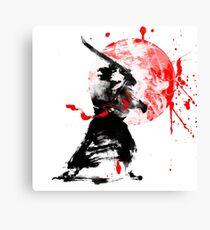 Japanische Samurai Leinwanddruck