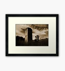 Damage Framed Print