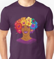 Marsha Johnson - Hero and Icon Slim Fit T-Shirt