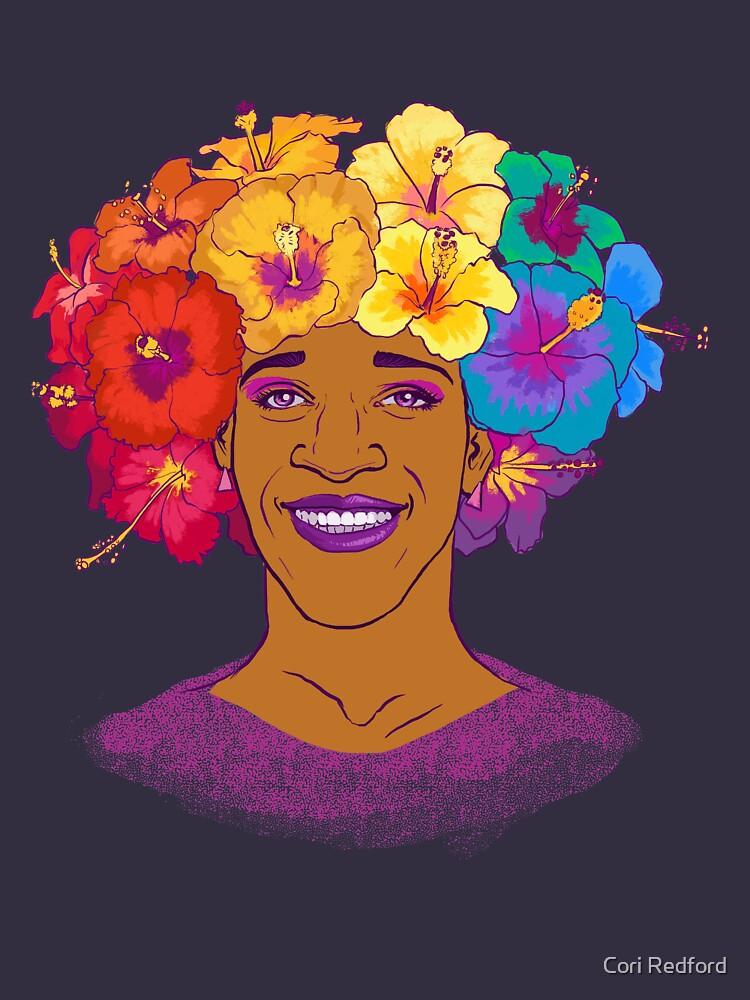 Marsha Johnson - Hero and Icon by coriredford