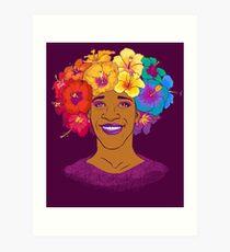 Marsha Johnson - Hero and Icon Art Print