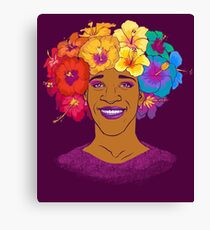 Marsha Johnson - Hero and Icon Canvas Print