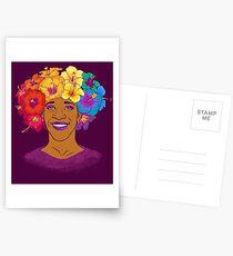 Marsha Johnson - Held und Ikone Postkarten