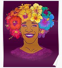 Marsha Johnson - Hero and Icon Poster