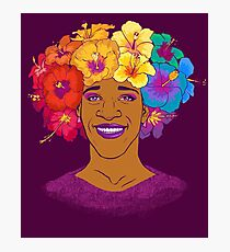 Marsha Johnson - Hero and Icon Photographic Print
