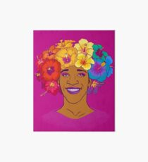 Marsha Johnson - Hero and Icon Art Board