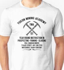 YUKON MINING ACADEMY GOLD MINE MINER WHITEHORSE CANADA NORTHWEST YUKON TERRITORY Unisex T-Shirt
