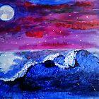 Night landscape by Tricia Johansson Furtado