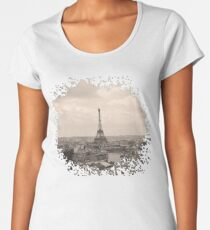 Paris Women's Premium T-Shirt