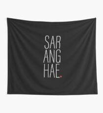 SARANGHAE - I love you. Wall Tapestry